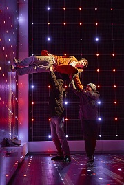 Christopher Boone's (Joshua Jenkins) Walking on the Wall | The Curious Incident of the Dog in the Night-Time at The Lowry
