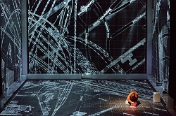 Christopher Boone's (Joshua Jenkins) Mathematical World | The Curious Incident of the Dog in the Night-Time, TheLowry