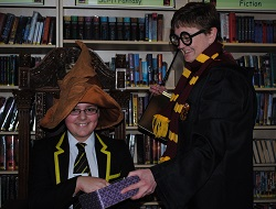 Harry Potter Celebration at SGS Library | The Sorting Hat