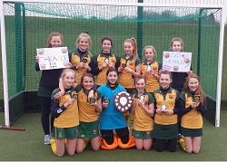 Cheadle Hulme School's U13 Hockey squad - Champions of the North, 2015