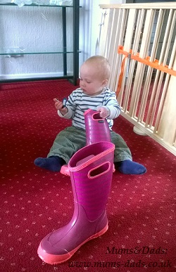 Baby and BOGS wellies boots