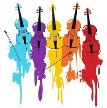 Cello Colourstrings Logo