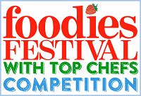 Foodies Festival 2015 Competition Logo