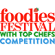 Foodies Festival Competition Logo