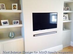 Build In Alcove, contemporary style | Nest Interior Design