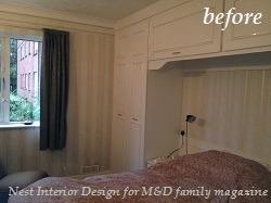 Build in Wardrobe before refurbishing