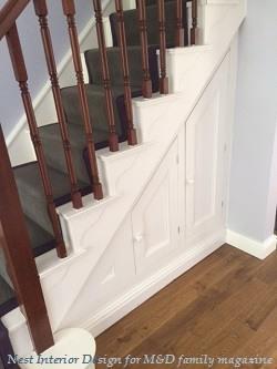 Under Stairs Cupboard | Nest Interior Design