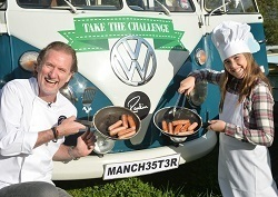 Paul Rankin brings his Mini Chef Challenge on the road