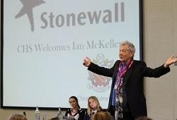 Sir Ian McKellen on assembly