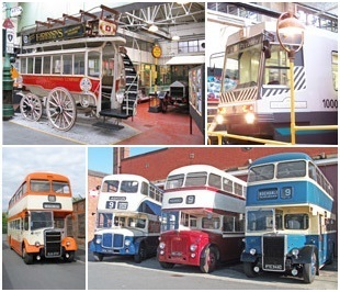 Historical buses, trains, coaches | Manchester Museum of Transport