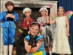 Cinderella panto at King's School in Macclesfield