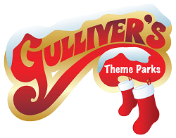 Gulliver's theme park Christmas logo