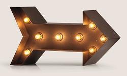 MADE.COM | Broadway Arrow Table Lamp