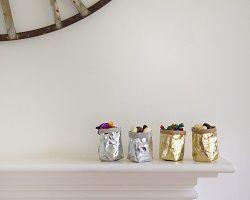 Velvet Dash Interiors, Uashmama Metallic Mini Paper Bags