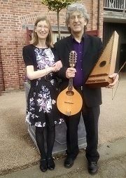 Ailsa and John Booth   A musical journey through time at Tatton Park