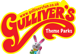 Gulliver's Logo with Easter Bunny Mascot
