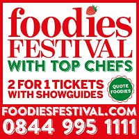 Promotional Code for Foodies Festival 2016 with Top Chefs