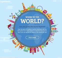 Where in the world game by SuperBreak