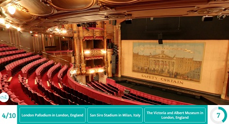 London Palladium inside | Screen from the game