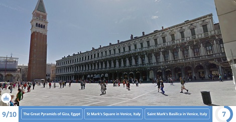 St Mark's Square, Venice | Screen from the game