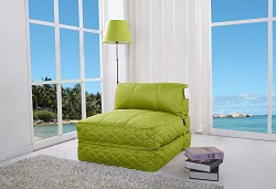 Big Chill fabric futon chair bed | Leader Lifestyle