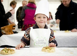 Children's Cookery Theatre at Foodies 2016