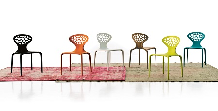 Moroso Supernatural Chairs designed by Ross Lovegrove