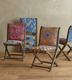 Kaneena Terai Chairs from anthropologie