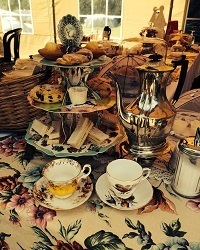 Vintage Tea Tent at Foodies 2016