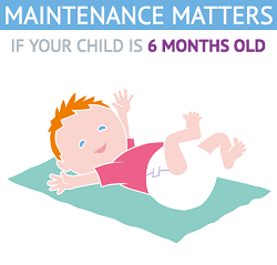 cost of having 6 month old baby - screenshot from PayPlan's Maintenance Matters interactive guide