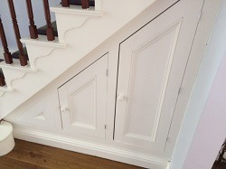 DBO Joinery | under the stairs storage