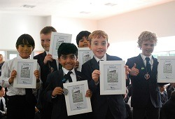 MGS - Bear Grylls 2016 | Boys getting their certificates