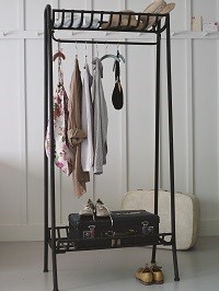 Cox & Cox | Industrial metal clothes rail