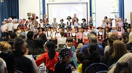 Bolton School | Pirates Assembly at Beech House