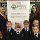 Helen Jeys, AESG Headmistress, Laura Earnshaw and year 1 girls (thumbnail)