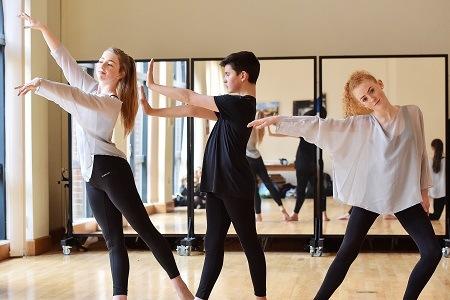 Dancers from Stockport Grammar School