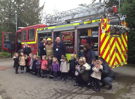 Firefighters visit to AESG 17-02-2017