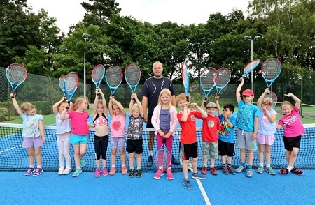 Easter and Whit holiday tennis camps with Point One Tennis at Poynton Tennis Club