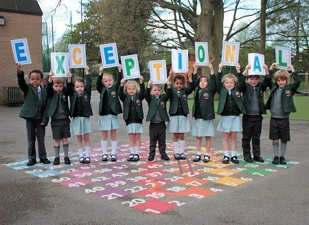 Cheadle Hulme School Reception Pupils After Inspection