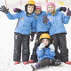 Fun in REAL snow at Chill Factore