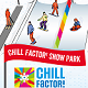 Chill Factore , snowboarding illustration