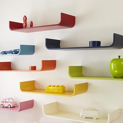 Tessera Curved Shelves at Aspace