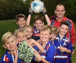 King's Junior U11 Football cup 2017 finalists