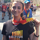 AESG Head Girl Rowdah Charbak at Virgin British 10K London Run