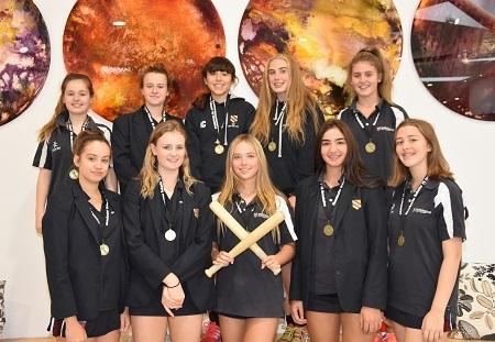 WGS girls are Manchester Schools Rounders Champions, October 2017