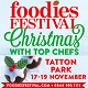 Christmas Foodies Festival 2017 at Tatton Park