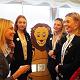 AESG Engineering Team girls and Tatton MP Esther McVey