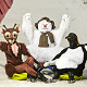 Characters from The Snowman show that's now on stage in Manchester Opera House at Chill Factore