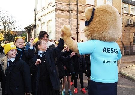 AESG Juniors fundraising for Children in Need