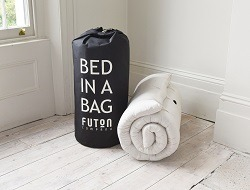 Bed In a Bag Futon for sleepover or a slumber party
